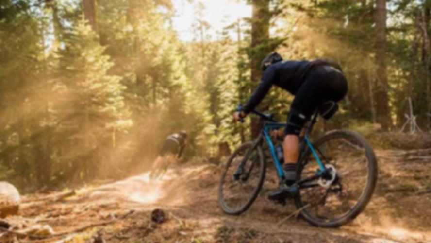 Gravel Bike Singletrack Riding