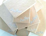 Gift boxes embossed with the AniMac logo