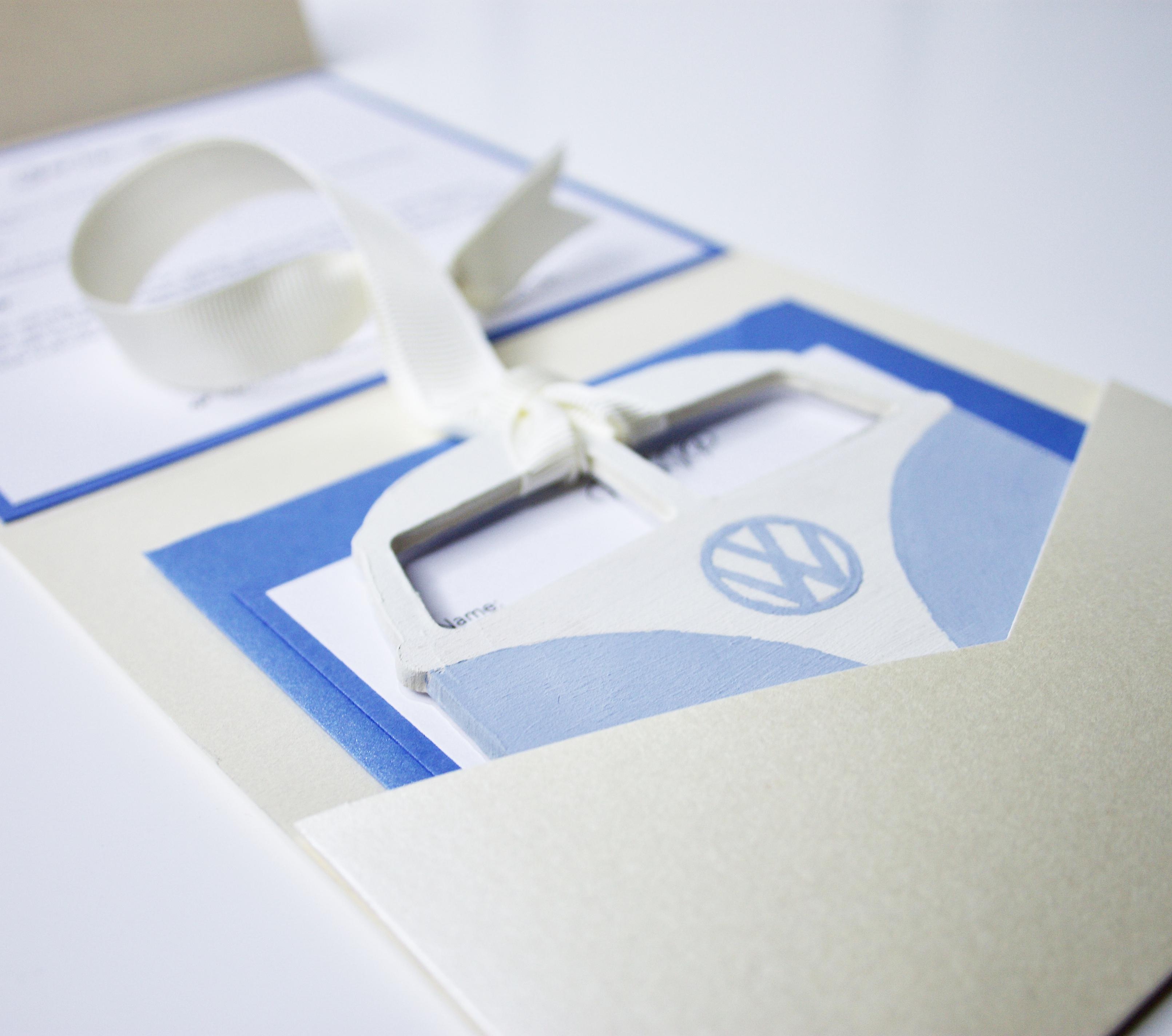 VW Camper Invitation