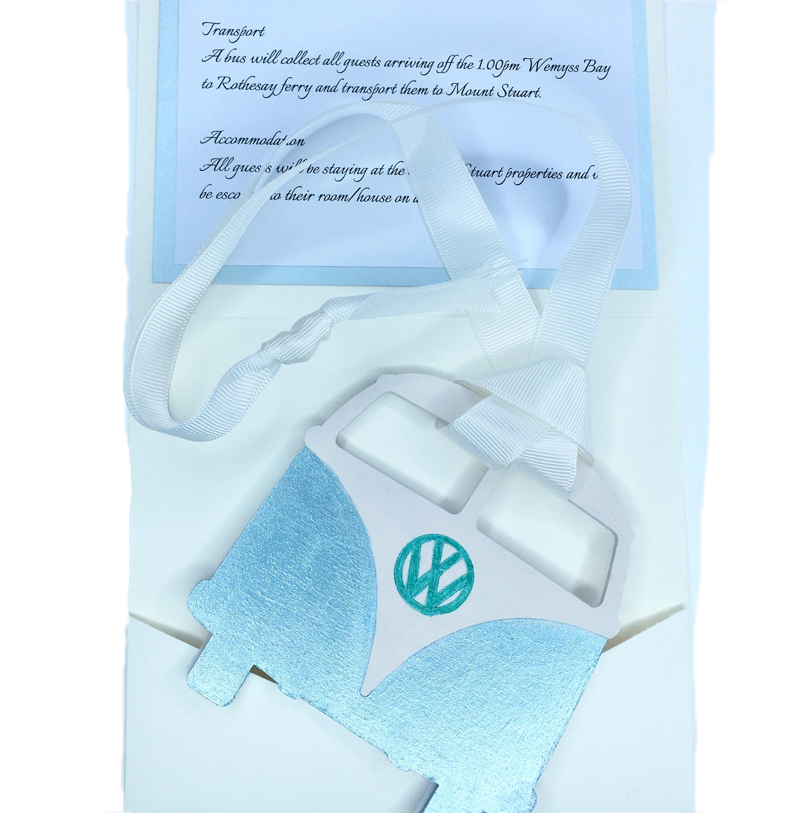 VW Camper Wedding Invitation