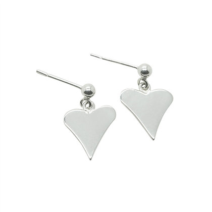Heart Charm Earrings