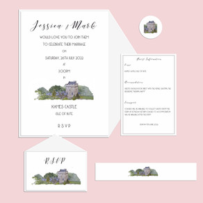 New Kames Castle Invitations!