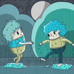 14 - Daily illustration - rain