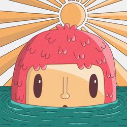 13 - Daily illustration - swimming