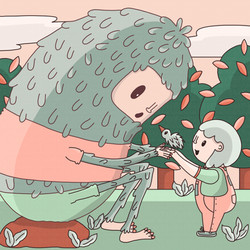 04 - Daily illustration - monster and gi