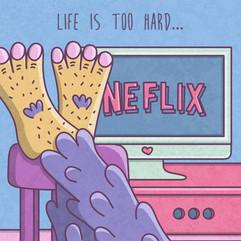 25 - Daily illustration - Life is hard.jpg