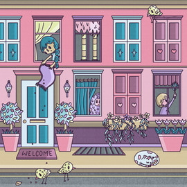 10 - Daily illustration - city life.jpg