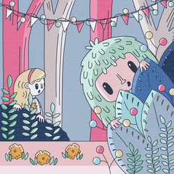 12 - Daily illustration - pic a boo