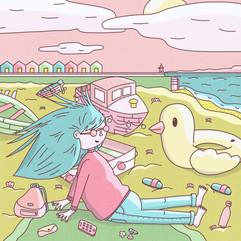 08 - Daily illustration - british holida