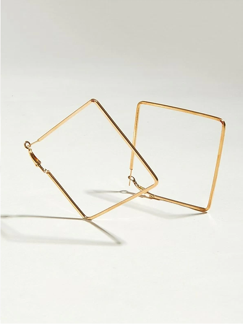 Classic Square Hoops