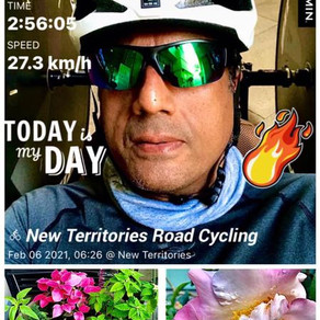 Spring is in the air - time to push harder - 80km in 2hrs 56min 💪💪