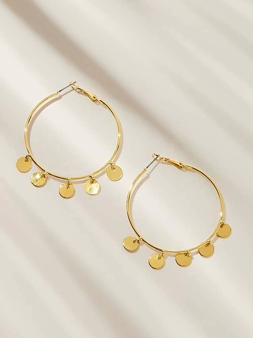 Sequin Hoops