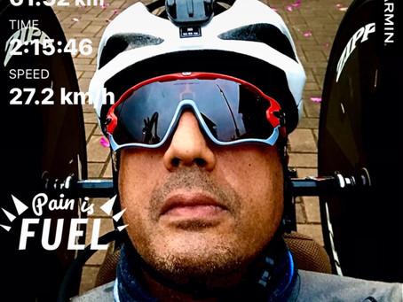 Pain is fuel - pump it
