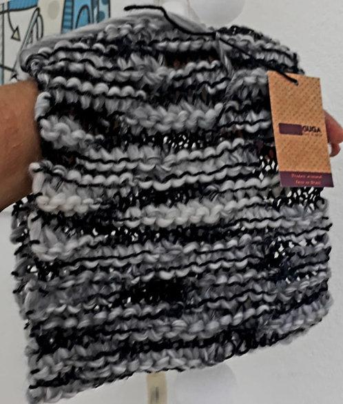 Gola Mescla em lã Guga Fios & Arte