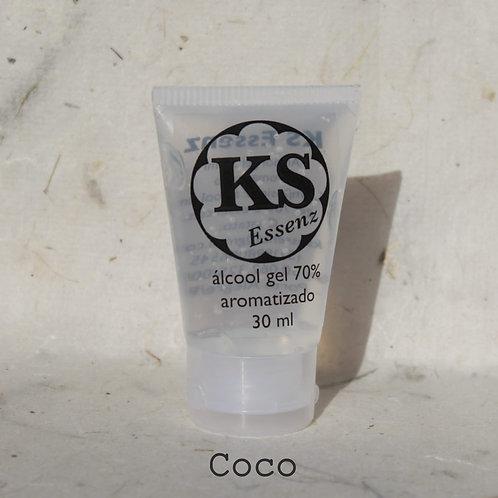 KS Essenz Álcool Gel 70% aromatizado coco