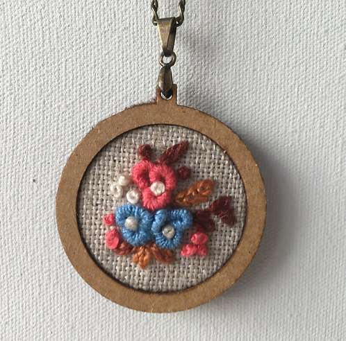 Colar 06 Begonia Embroidery