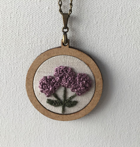 Colar 13 Begonia Embroidery