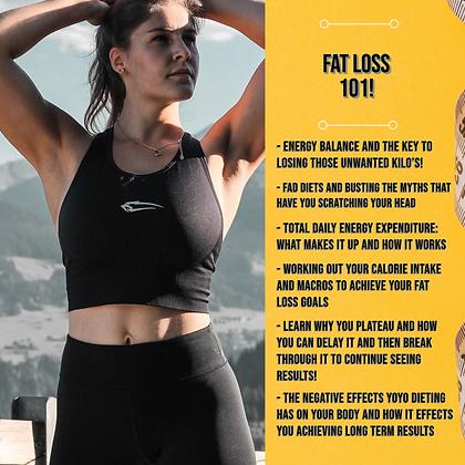 Fat Loss 101 Part 2