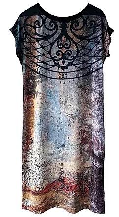 Vestido Porta da Prefeitura Cylene Dallegrave