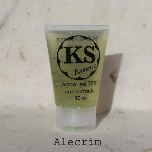 KS Essenz Álcool Gel 70% aromatizado alecrim