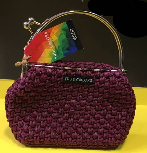 Bolsa Ferragem Redonda Roxa True Colors