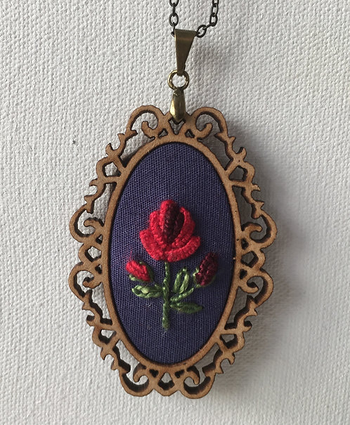 Colar 07 Begonia Embroidery