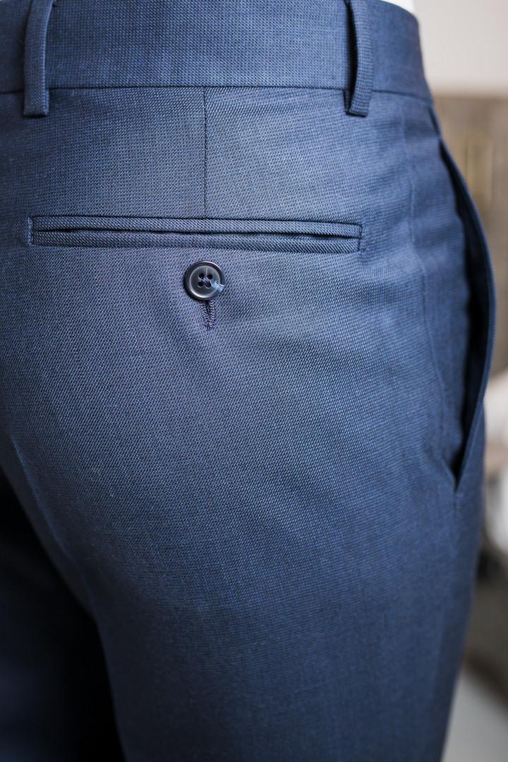Poche arrière pantalon - Passepoils à bo