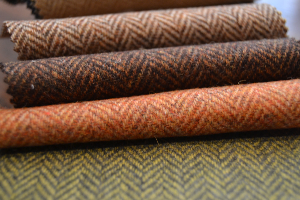 Tweed aux couleurs automnales Holland & Sherry