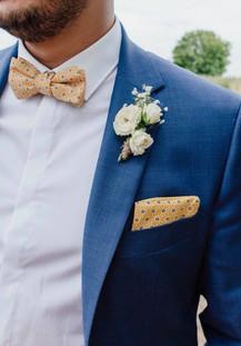 Accessoires mariage Contraste Jaune/Bleu - Lille