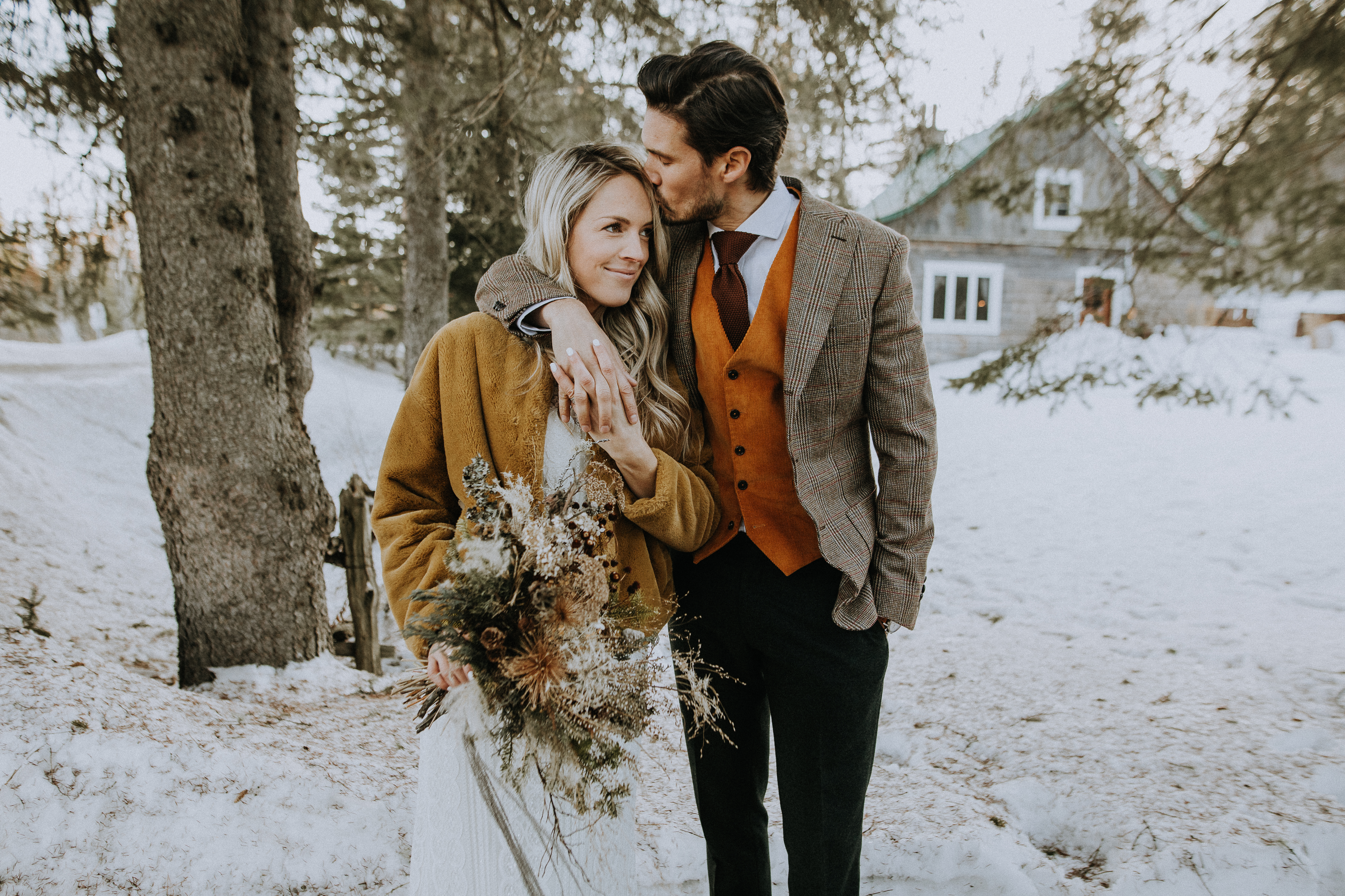 Complet boho mariage