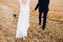 Costume de mariage champêtre /Nature