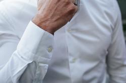 Chemise tendance blanche
