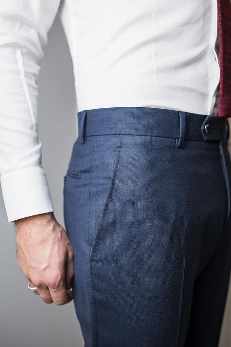 Poche italienne - ceinture a passants