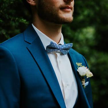 Costume bleu mariage Reims