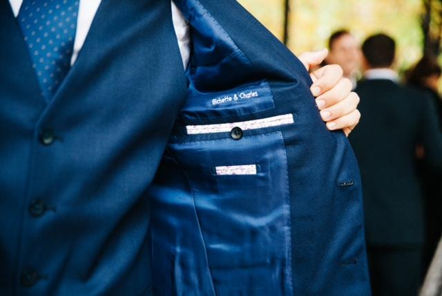 Intérieur de costume sur mesure