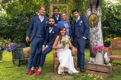 Costumes du marié et des témoins