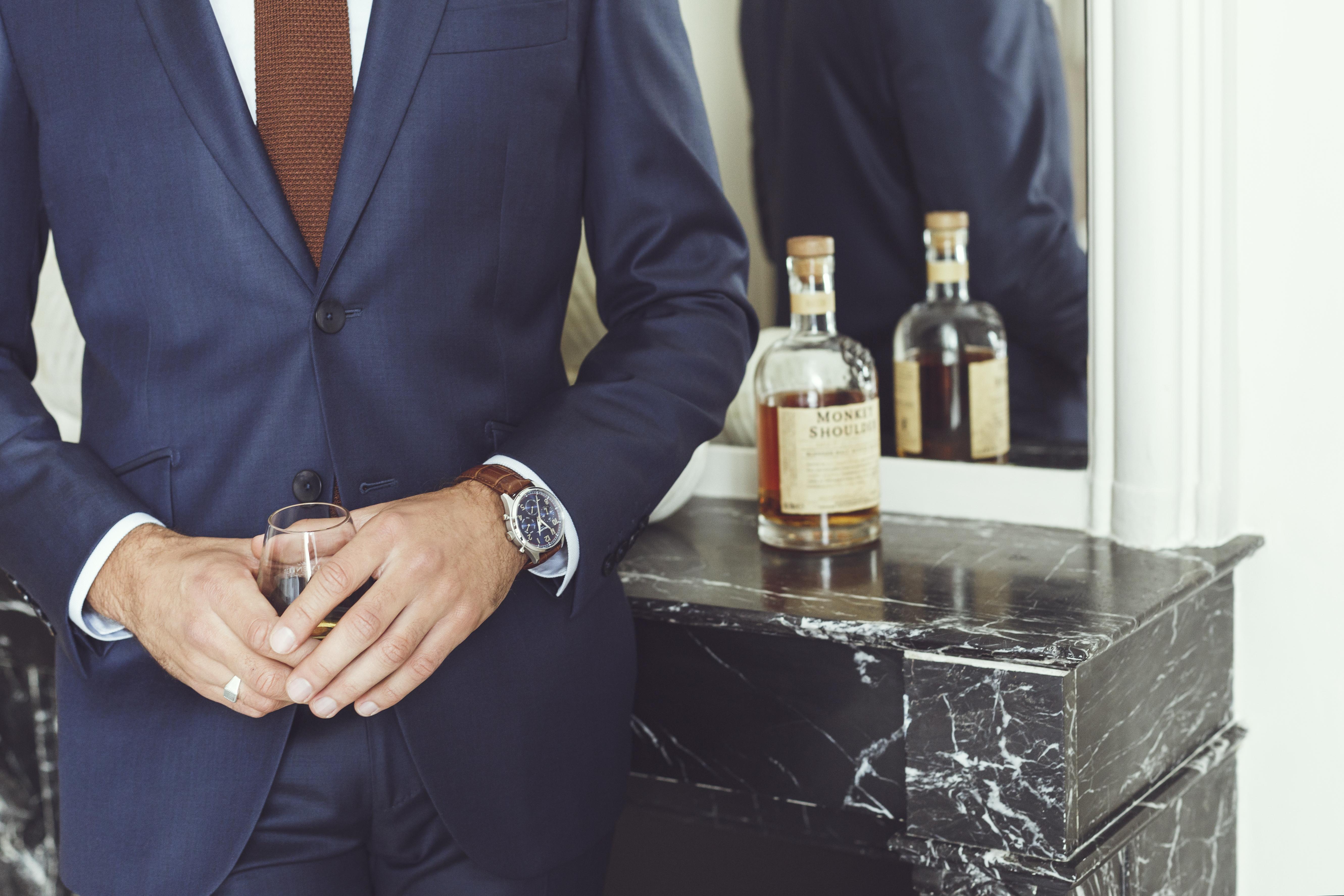 Costume Bleu Business-1