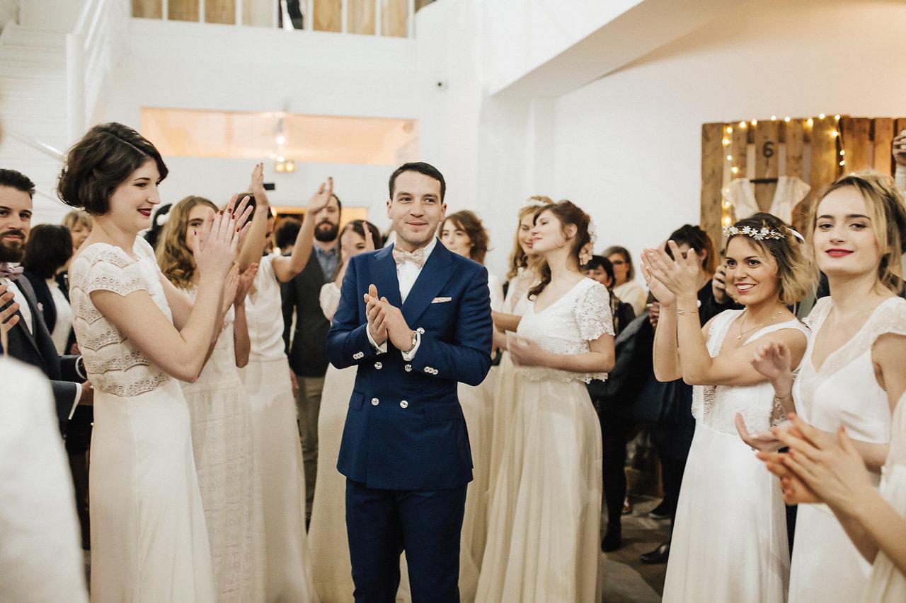 Costume croisé de mariage