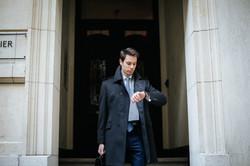 Manteau trendy sur mesure