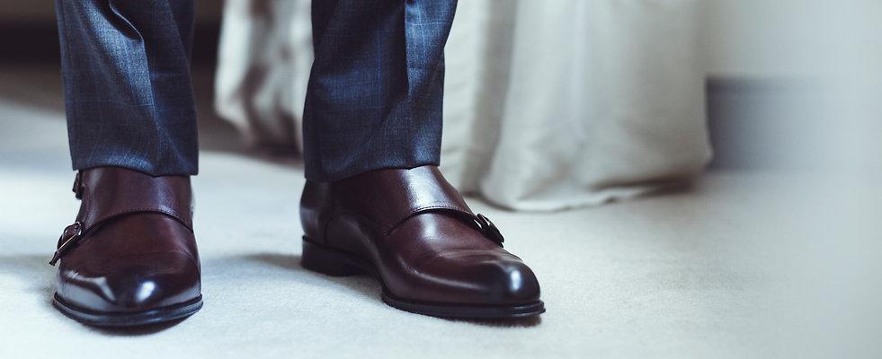 Pantalon princes de galles gris