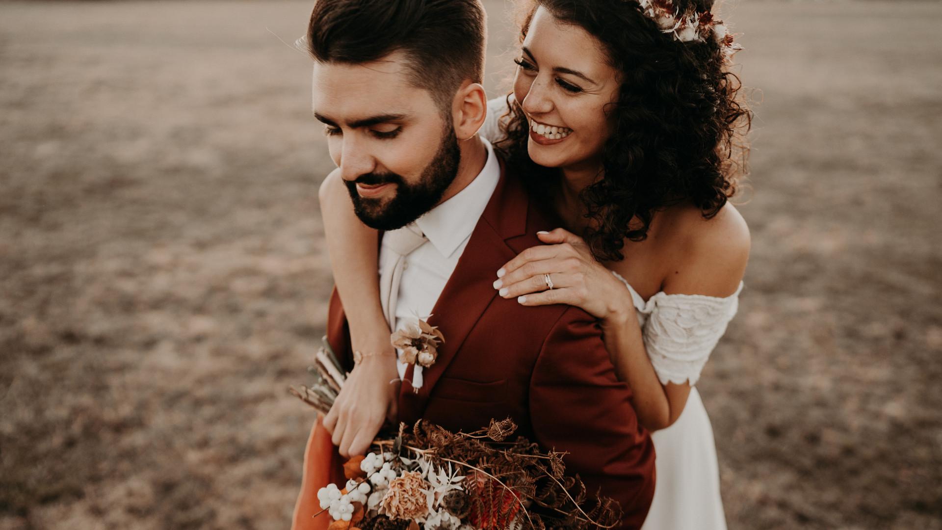Costume de Mariage - Terracotta