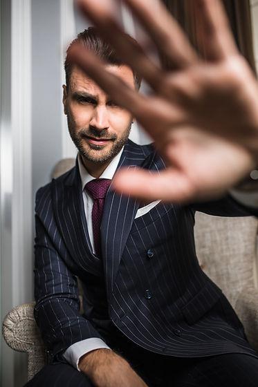 La qualité de l'expérience clientaccessible pour un costume sur mesure