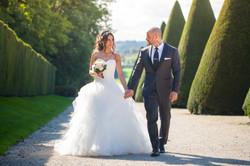 Costume de mariage gris anthracite