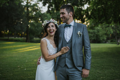 Mariage champètre - Costume 3 pièces gris clair à Paris