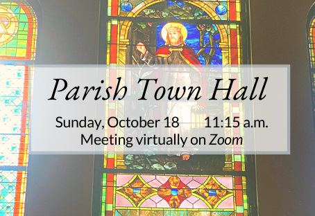Virtual Coffee Hour and Town Hall: Oct. 18