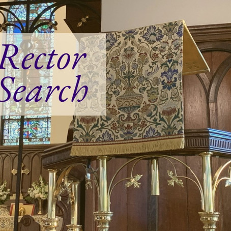 New Rector Search |January 2021 Update