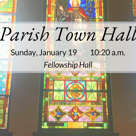 Parish Town Hall: January 19
