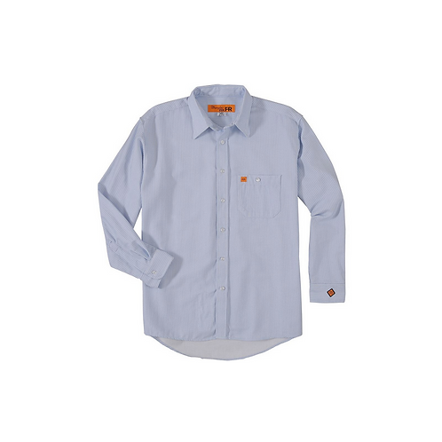 Wrangler 20X FR Striped Work Shirt