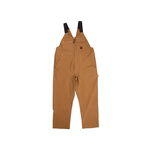 Tough Duck Zip Front Unlined Bib Overall