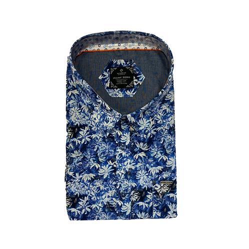 Point Zero Classic Fit Short Sleeve Fashion Shirt